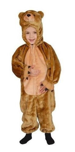 vestir america ninos dulce cuddly pequeno oso marron traje