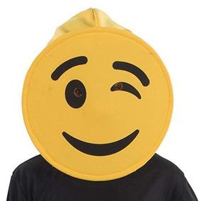 Ca NinosDe America Mascara La Winking Vestir Emoji v7gY6fby