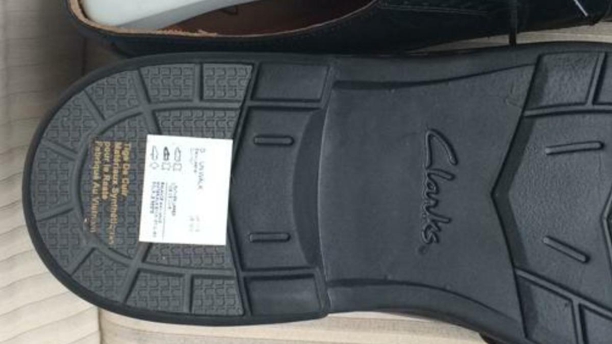 Zapatos De Vestir Casuales Clarks Talla 45 Negros
