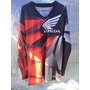 Jersey Polera Motocross Honda Valparaiso Xl