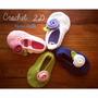 Zapatios A Crochet Para Bebes