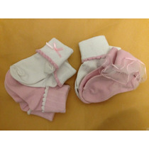 Pack 4 Pares De Calcetines Para Bebé