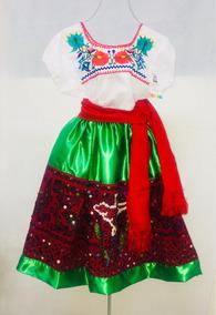 Vestuario De China Poblana Niña Traje Típico Puebla