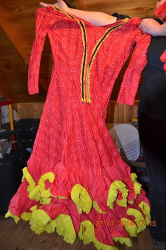 vestuario flamenco