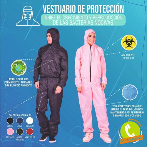 vesturario antifluido  bioseguridad  con capa