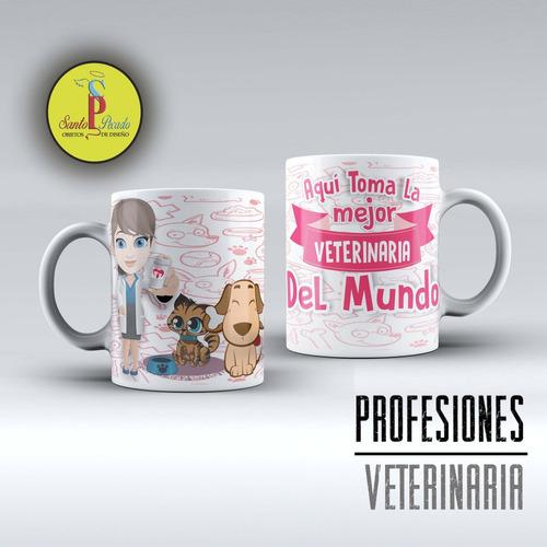 veterianaria veterinario taza de porcelana importada