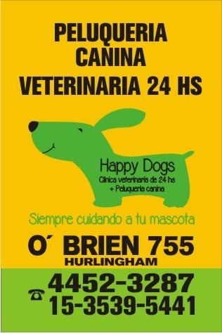veterinaria 24 hs, urgencias; domicilios; internación; ecogr