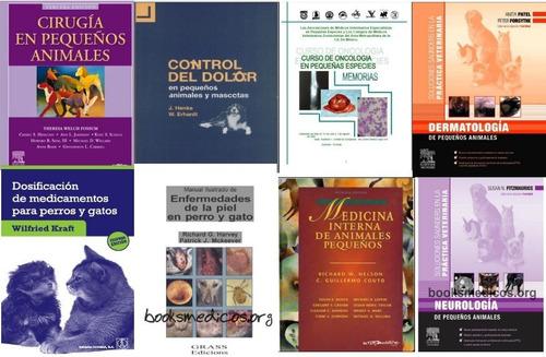 veterinaria pequeños animales colección.14 libros @@@