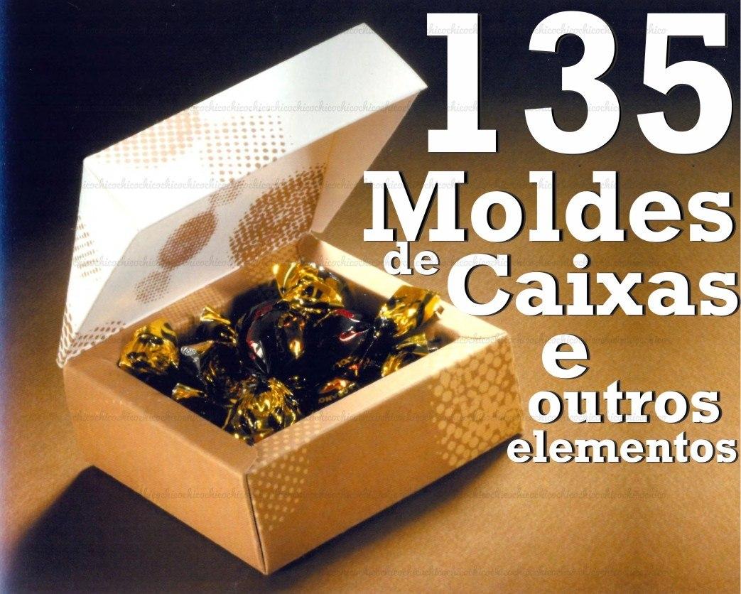 Vetores 0071 135 Moldes De Caixas Outros Silhouette