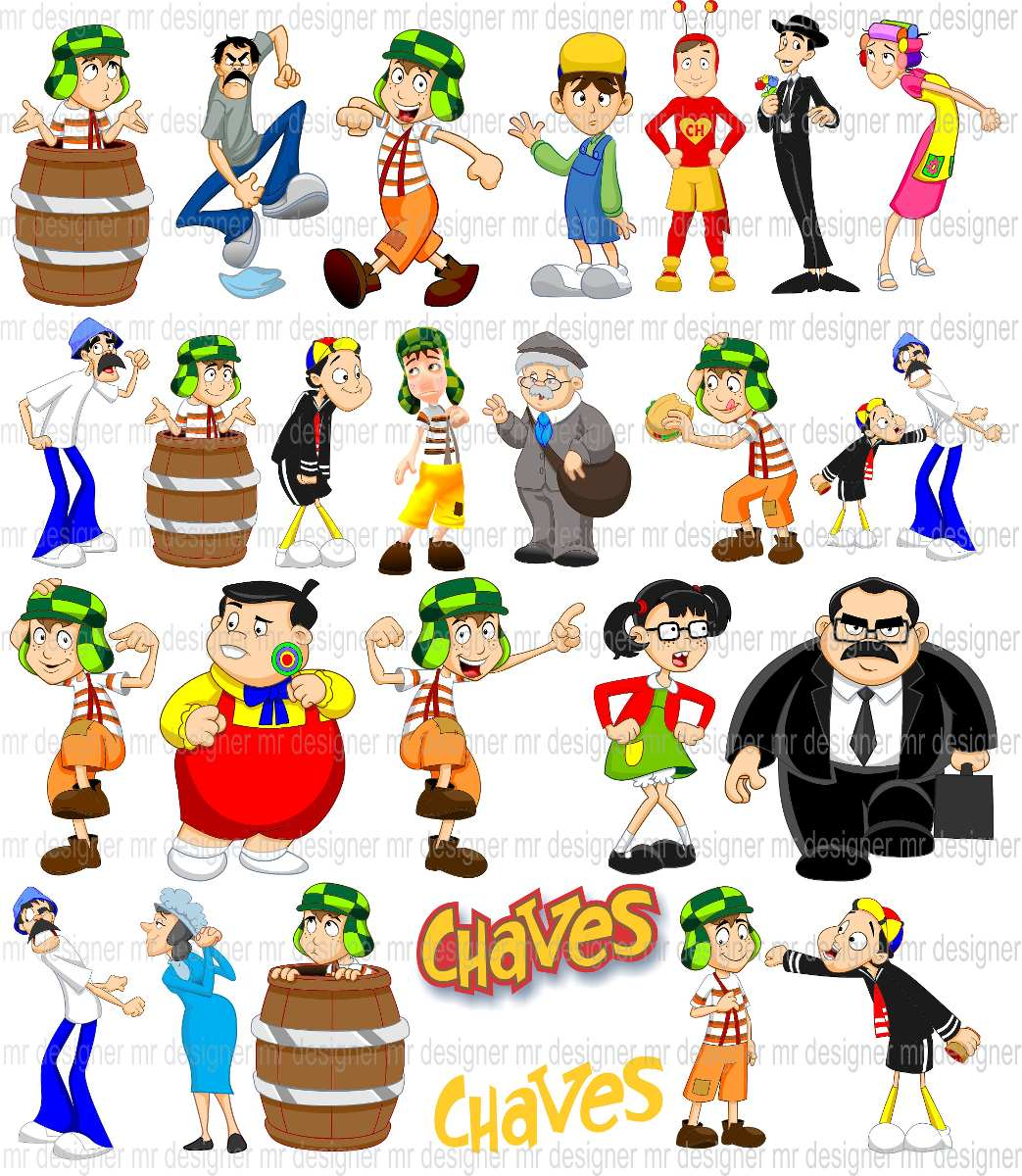 Vetores Chaves Baby E Chaves Chapolim Png E Corel R 20 00 Em