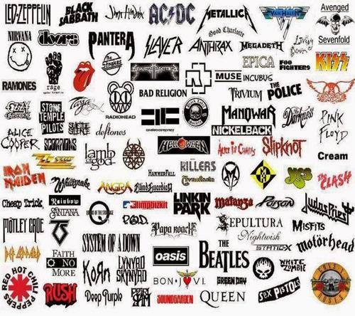 vetores de bandas de rock editaveis download