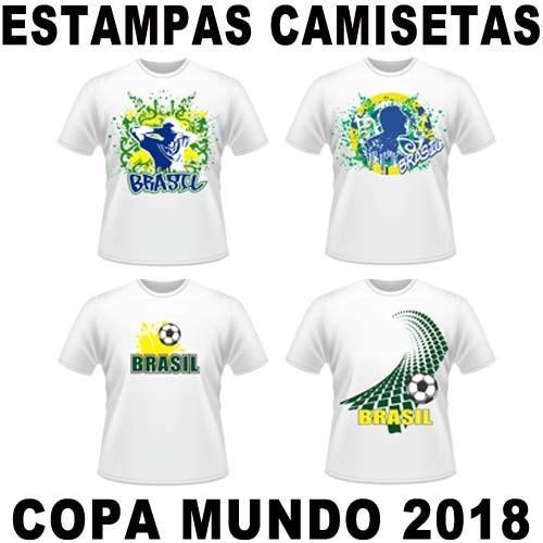 Vetores Estampas Copa Mundo 2018 Russia Artes R  24 80 a45d69e311714