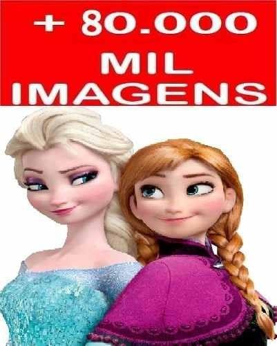 vetores minions frozen + infantis + brinde