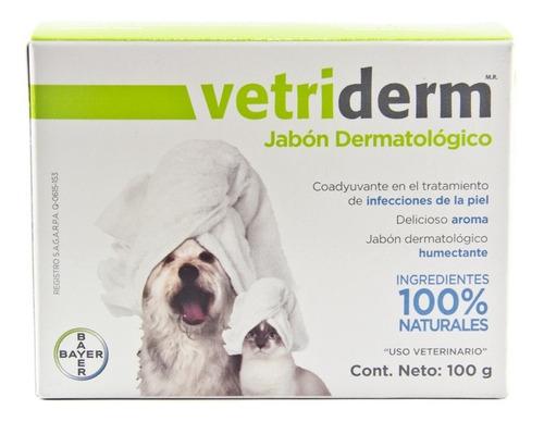 vetriderm  bayer  jabón dermatológico