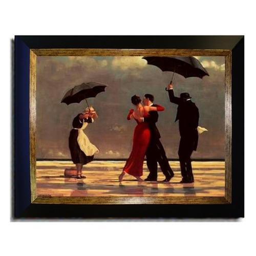 vettriano 'singing butler' marco de pinturas en lienzo