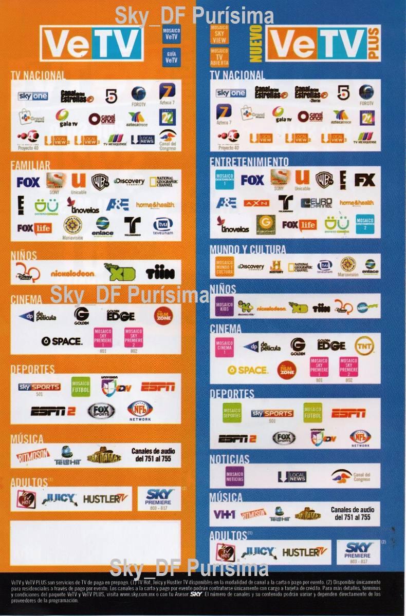 Vetv Plus 61 Canales Susc $0.00 Por 1 Equipo - $ 249.00 en