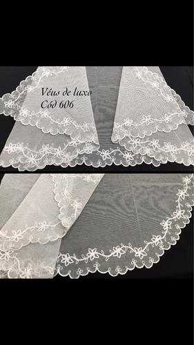 véus ccb bordados  francês delicado exclusivo!