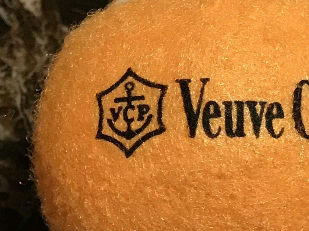 Veuve Clicquot Champagne Original Vcp Raro 3 Pelotas De Teni
