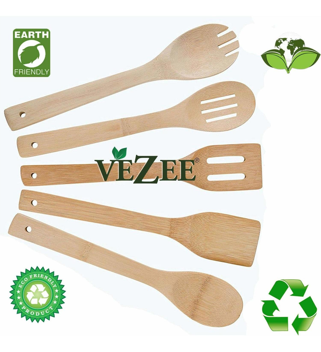 Home, Furniture & DIY Party Supplies Vezee Bamboo Turner