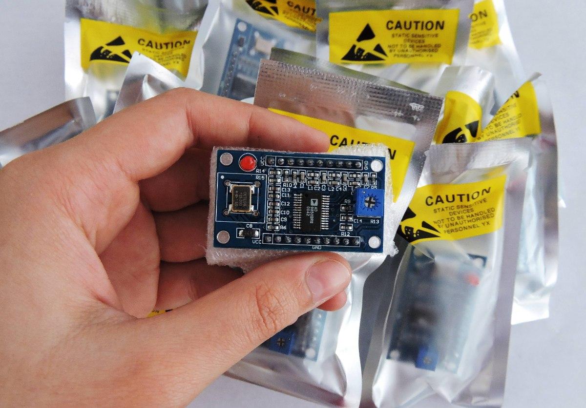 Vfo Módulo Gerador De Funções Ad9850 Dds 0-40mhz Arduino Pic