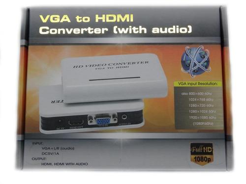 vga a hdmi con audio / 3383