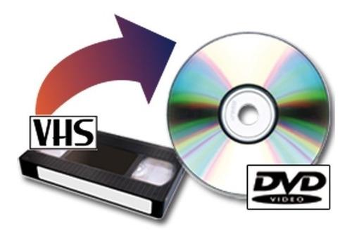 vhs a digital, pendrive, disco externo y dvd