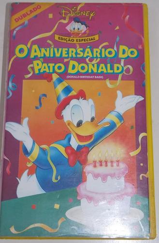 vhs ao aniversário do pato donald dublado