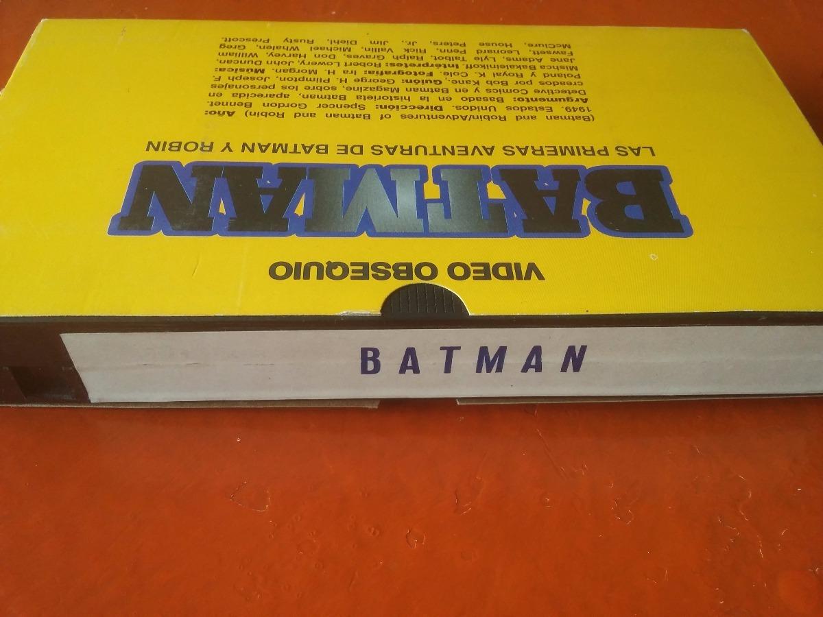 Vhs Batman Serial 1949