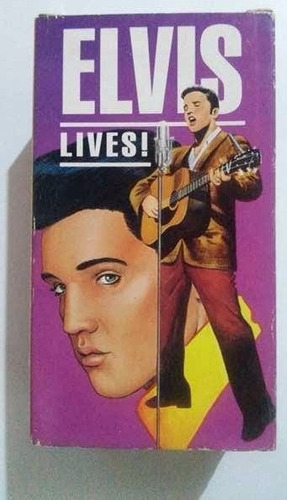 vhs box  elvis lives!