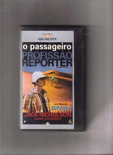 vhs caras quality vol 35 - o passageiro, profissão reporter