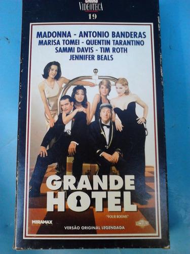 vhs caras videoteca vol 19 - grande hotel, madonna tarantin