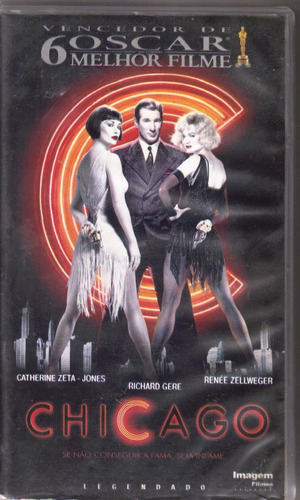 vhs chicago, catherine zeta jones, richard gere - legendado