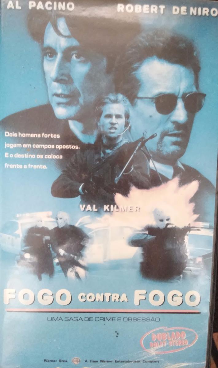 Vhs Dublado Fogo Contra Fogo Al Pacino E Robert De Niro Raro