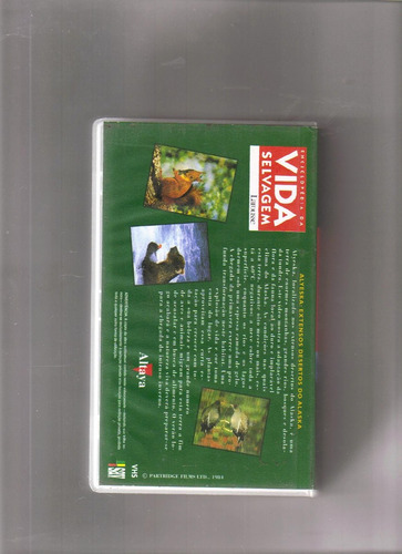 vhs enciclopédia da vida selvagem - larousse - volume 6