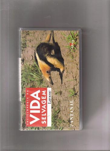 vhs enciclopédia da vida selvagem - larousse - volume 7