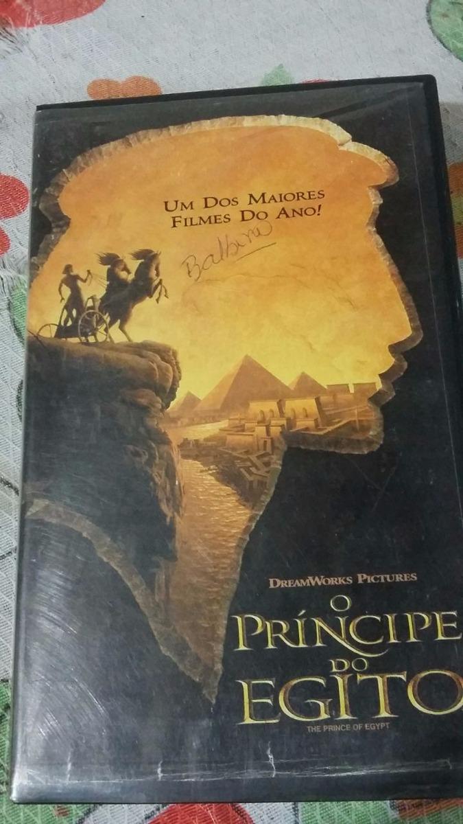 Vhs Filme O Principe Do Egito R 10 00 Em Mercado Livre