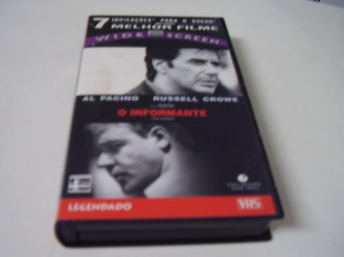 vhs legendado = o informante - russel crowe, vitorsvideo