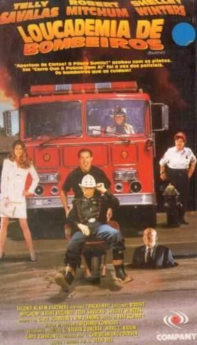 vhs - loucademia de bombeiros - josh mosby
