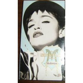 vhs madonna (inmaculate colecction) + dvd