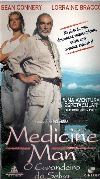 Vhs - Medicine Man O Curandeiro Da Selva - Sean Connery, - R$ 39 ...