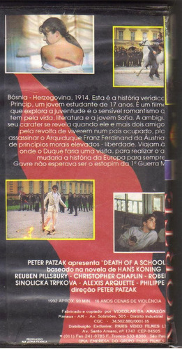 vhs morte na bósnia, reuben pillsbury - drama