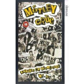 vhs motley crue decade of decadence 81 91 + dvd