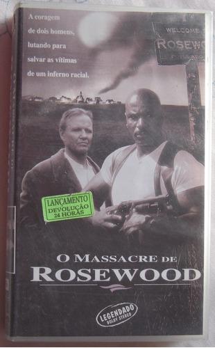 vhs - o massacre de rosewood - original - legendado.