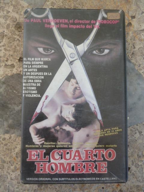 Vhs Original - El Cuarto Hombre - Pelicula - $ 46,00 en Mercado Libre