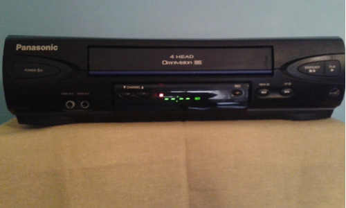 vhs panasonic modelo pv-v4022 incluye curso de ingles/video