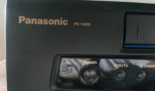vhs panasonic pv-7400 usado operativo