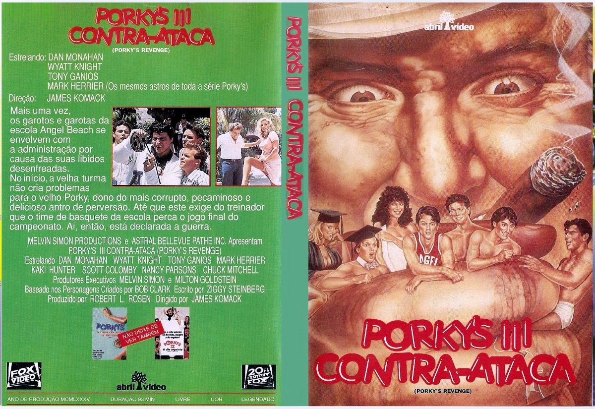 Resultado de imagem para Porky's 3 – Porky's Contra-Ataca