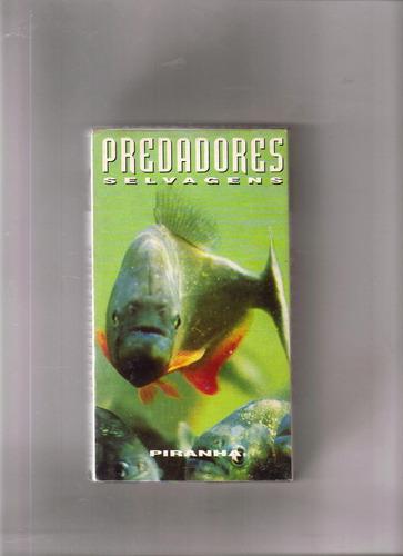 vhs predadores selvagens - 17 - piranha