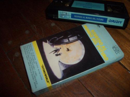 vhs-regreso al mundo del futuro-1976- brynner-permuto juegos