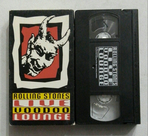 vhs rolling stones live voodoo lounge